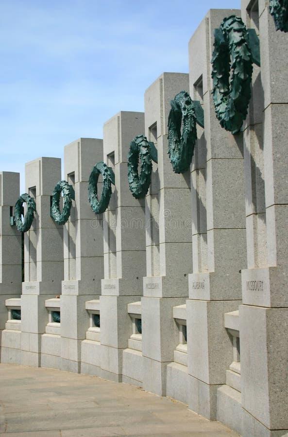 Het Gedenkteken van de Wereldoorlog II royalty-vrije stock afbeeldingen