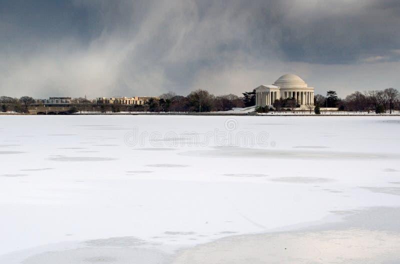 Het Gedenkteken van Jefferson royalty-vrije stock foto's