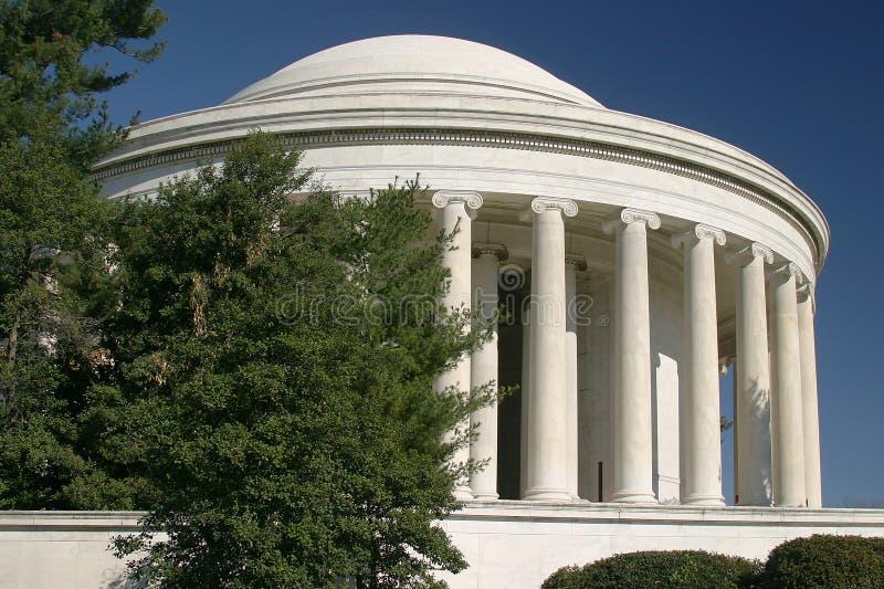 Het Gedenkteken van Jefferson stock foto's