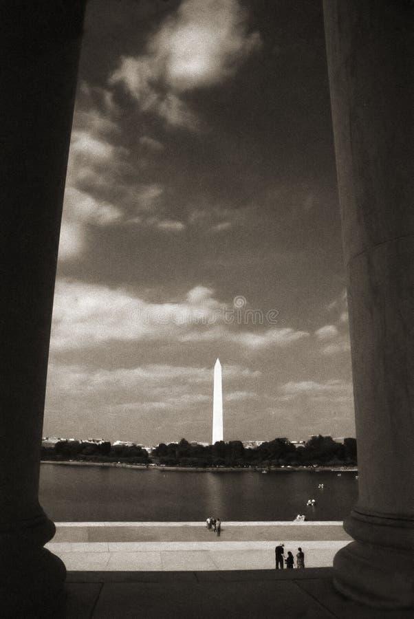 Download Het Gedenkteken Van Jefferson Stock Afbeelding - Afbeelding bestaande uit rente, vrijheid: 285889