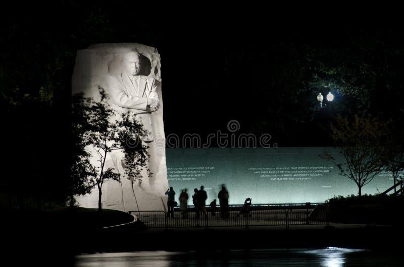Het Gedenkteken van Jr. van Martin Luther King in Washington DC royalty-vrije stock fotografie