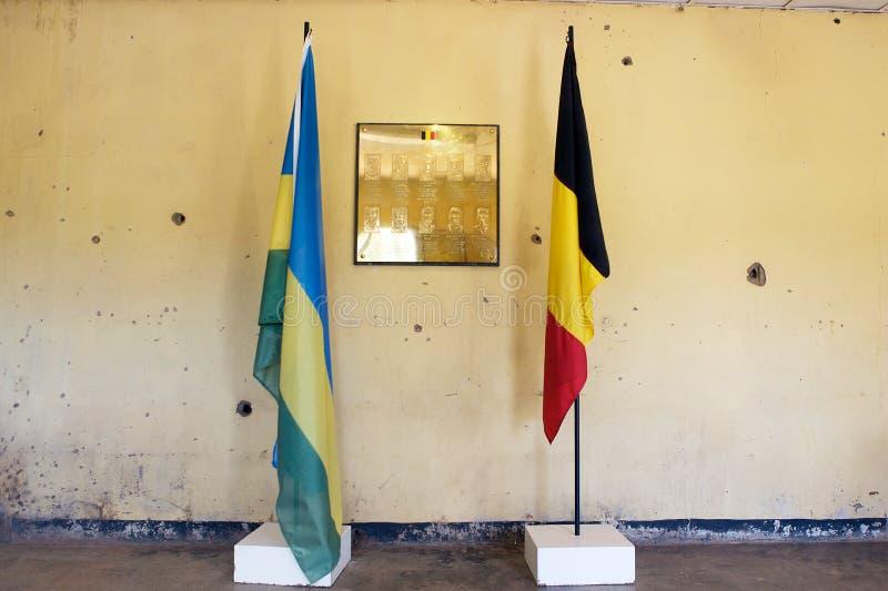 Het gedenkteken van Kigali van het kamp stock foto's