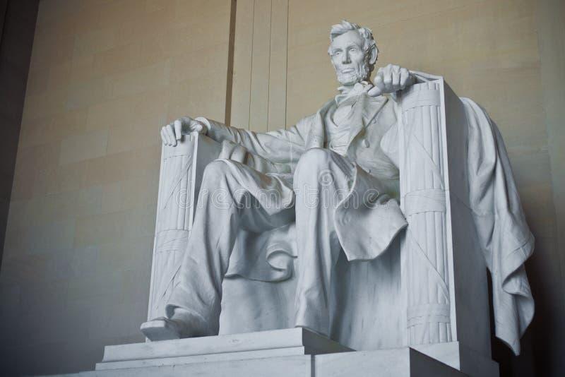 Het Gedenkteken van Lincoln, Washington DC stock foto's