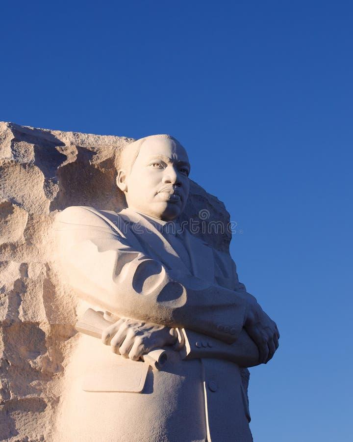 Het Gedenkteken van Martin Luther King stock afbeeldingen