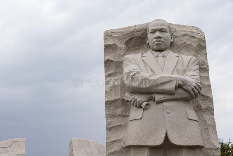 Het Gedenkteken van Martin Luther King in Washington DC stock afbeelding