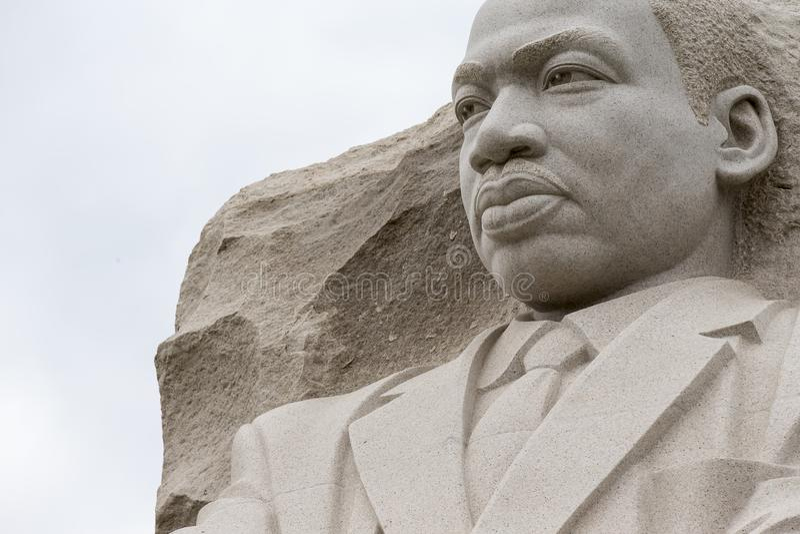 Het Gedenkteken van Martin Luther King in Washington DC royalty-vrije stock foto's