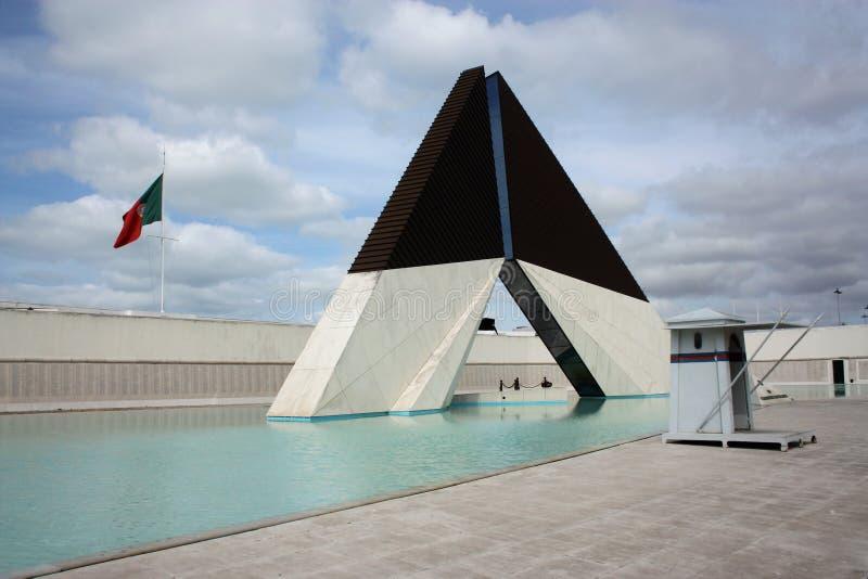 Het gedenkteken van Monumentocombatentes Ultramar, Lissabon stock fotografie