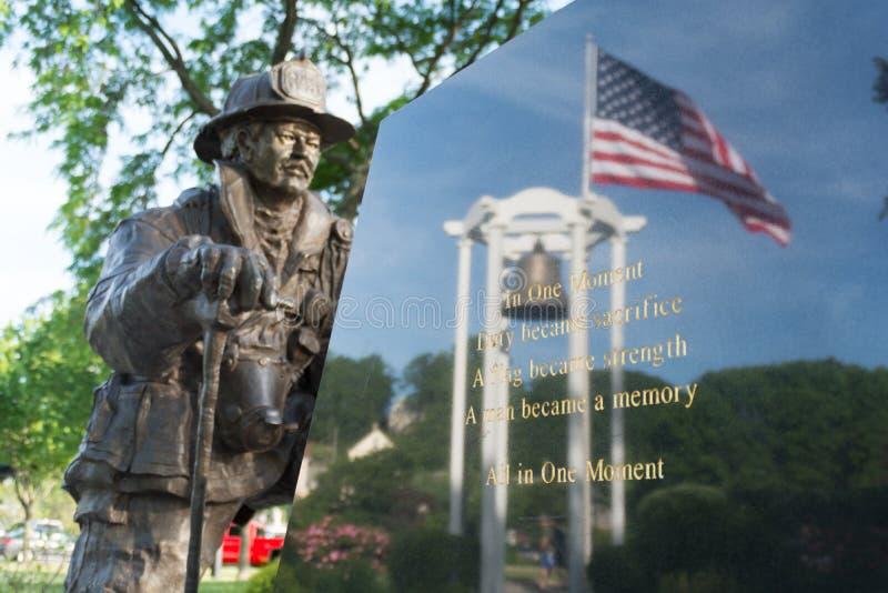11 het Gedenkteken van september, Peekskill, NY stock foto's
