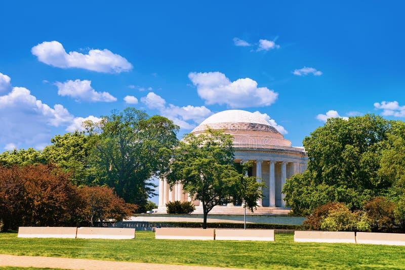 Het gedenkteken van Thomas Jefferson in Washington DC royalty-vrije stock afbeelding