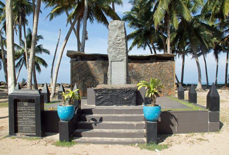 Het Gedenkteken van Tsunamihonganji Vikara stock afbeeldingen
