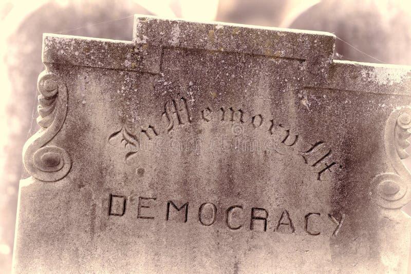 In het geheugen van de democratie Het referendum en het verkiezingsconcept van Brexit royalty-vrije stock afbeelding