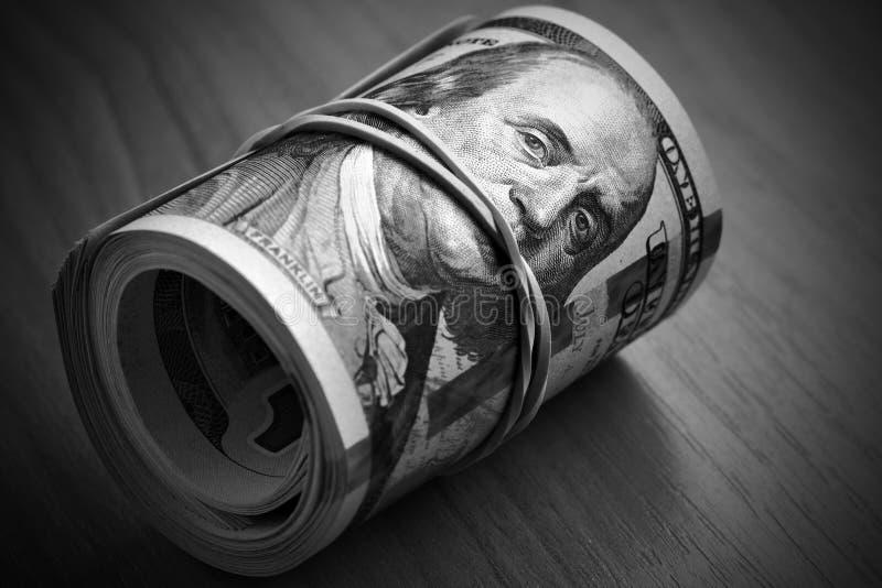 Het geld houdt stil royalty-vrije stock fotografie