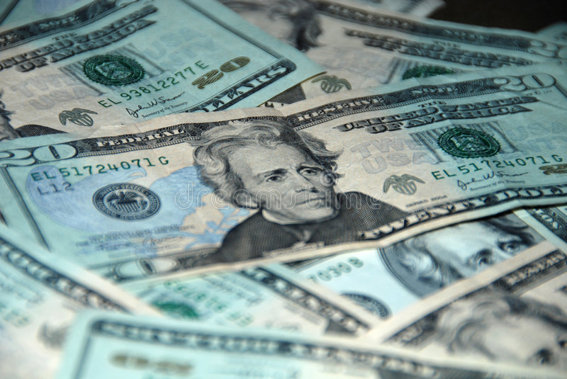 Het Geld van de huur royalty-vrije stock afbeeldingen