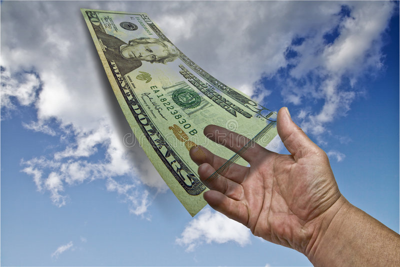 Het Geld van financiën royalty-vrije stock fotografie