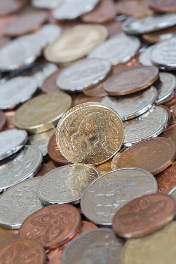 Het Geld van Nieuw Zeeland stock afbeelding
