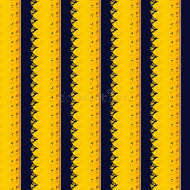 Het gele patroon van het bloemblad royalty-vrije stock afbeelding
