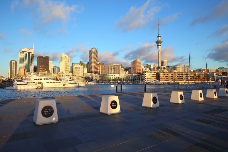 Het gelijk maken in Auckland stock afbeeldingen
