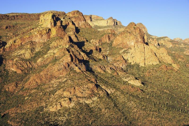 Het gelijk maken bij de canion van de vissenkreek in Arizona royalty-vrije stock fotografie
