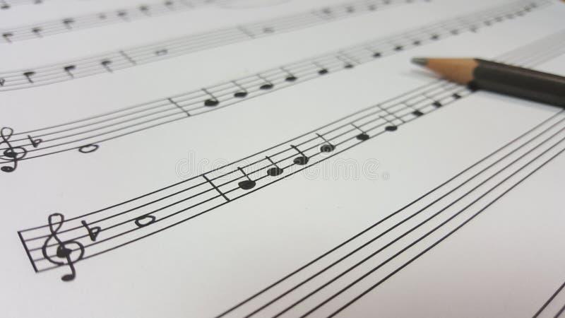 Het Geluid Van Muziek Gratis Stock Afbeeldingen