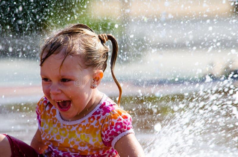 Het geluk van de zomer royalty-vrije stock afbeeldingen