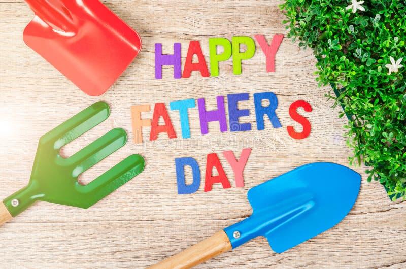 Het gelukkige concept van de vader` s dag royalty-vrije stock fotografie