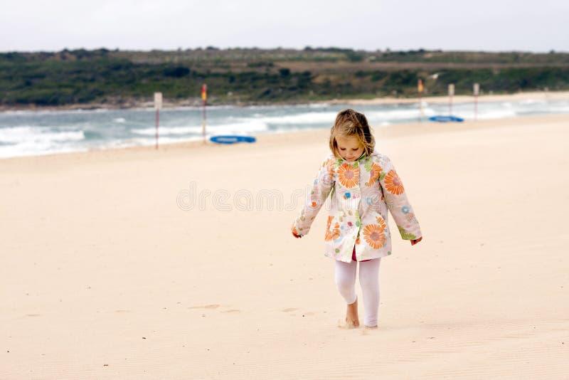 Het gelukkige Meisje van de Baby royalty-vrije stock afbeelding