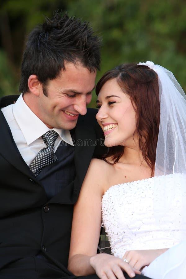 Het gelukkige Paar van het Huwelijk