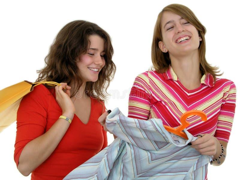 Download Het gelukkige winkelen stock foto. Afbeelding bestaande uit volwassen - 293466