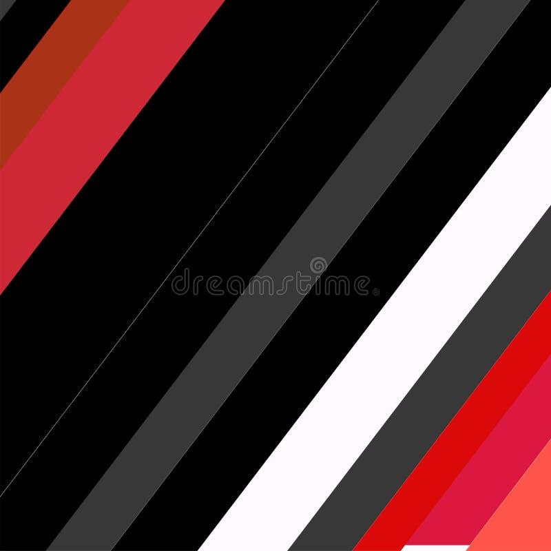 Het in geometrische ontwerp van de groetkaarten van elementenmemphis Retro stijltextuur, patroon en elementen Moderne abstracte o vector illustratie