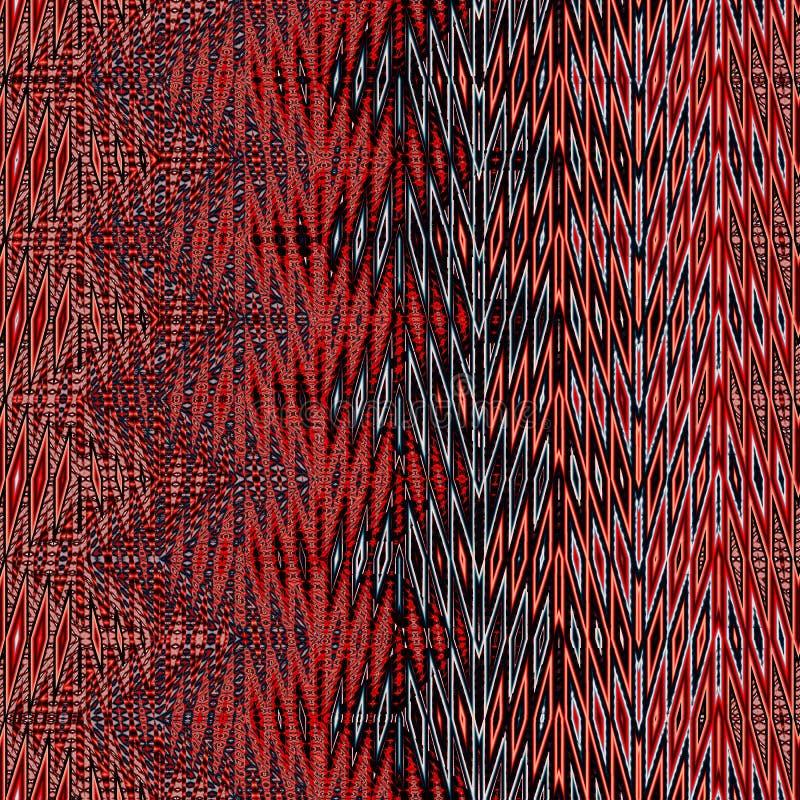 Het geometrische ornament, kan de achtergrond voor tapijtwerk zijn stock fotografie