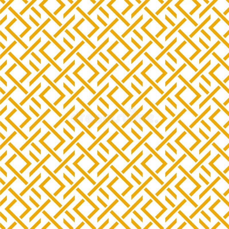 Het geometrische patroon met strepen royalty-vrije stock afbeeldingen