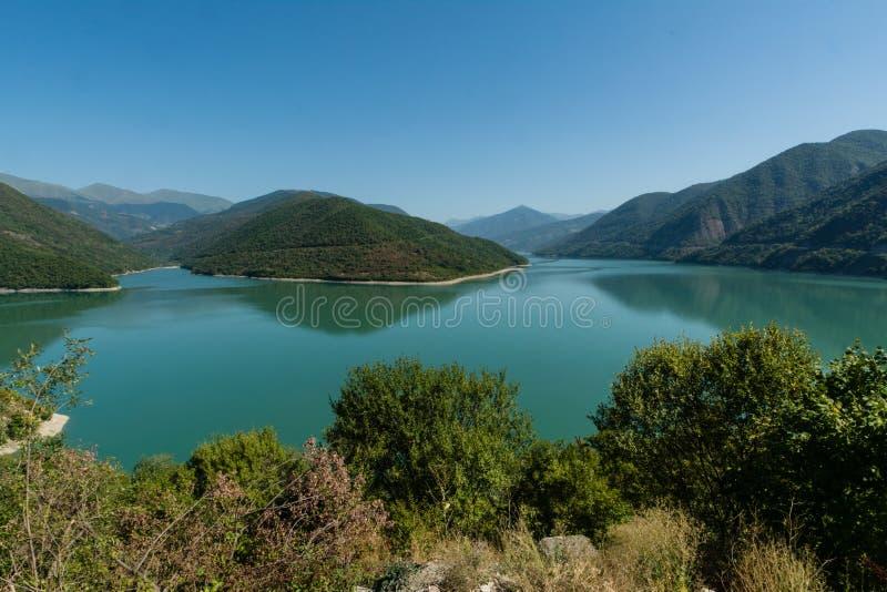 Het Georgische Militaire reservoir van Wegzhinvali stock fotografie