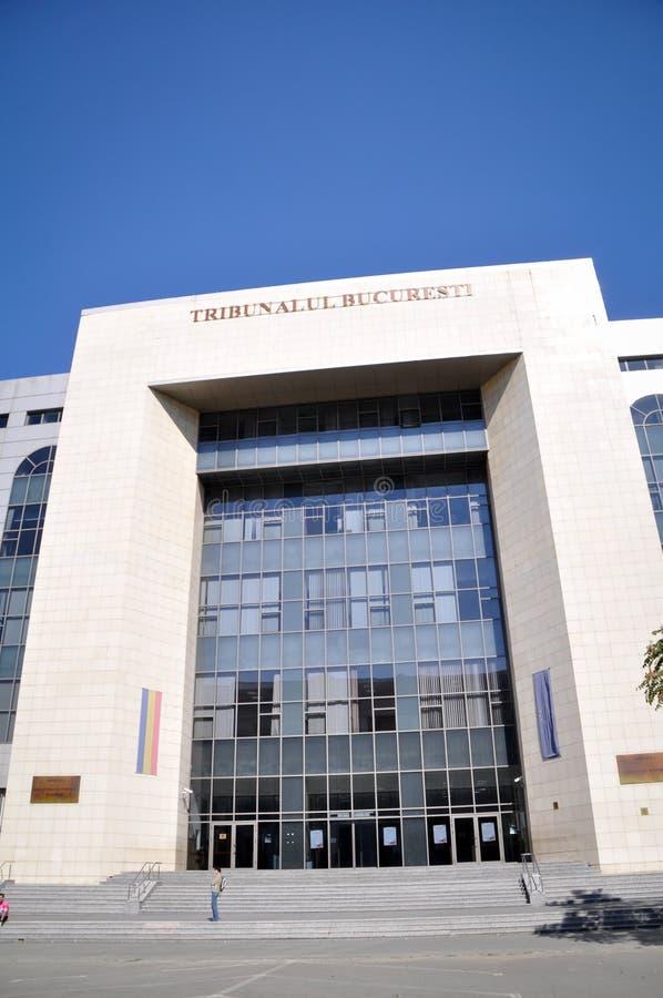 Het gerechtsgebouw van Boekarest