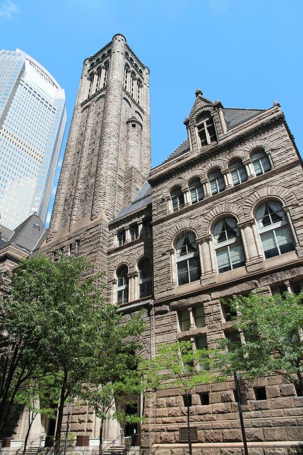 Het gerechtsgebouw van Pittsburgh royalty-vrije stock afbeeldingen