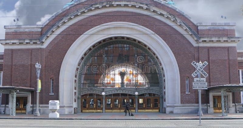 Het Gerechtsgebouw van Verenigde Staten in Tacoma, Washington royalty-vrije stock foto's
