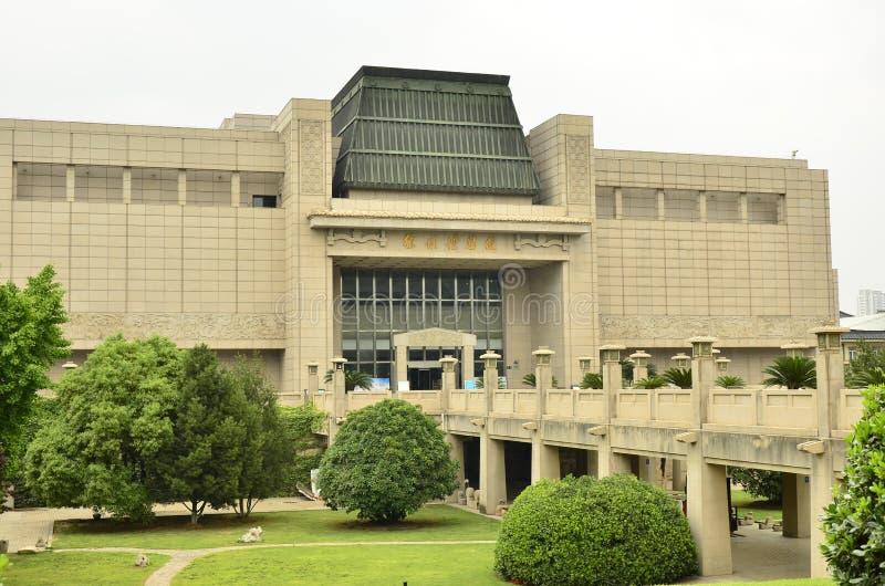 Het Geschiedenismuseum van Xuzhou in Xuzhou, China royalty-vrije stock afbeelding
