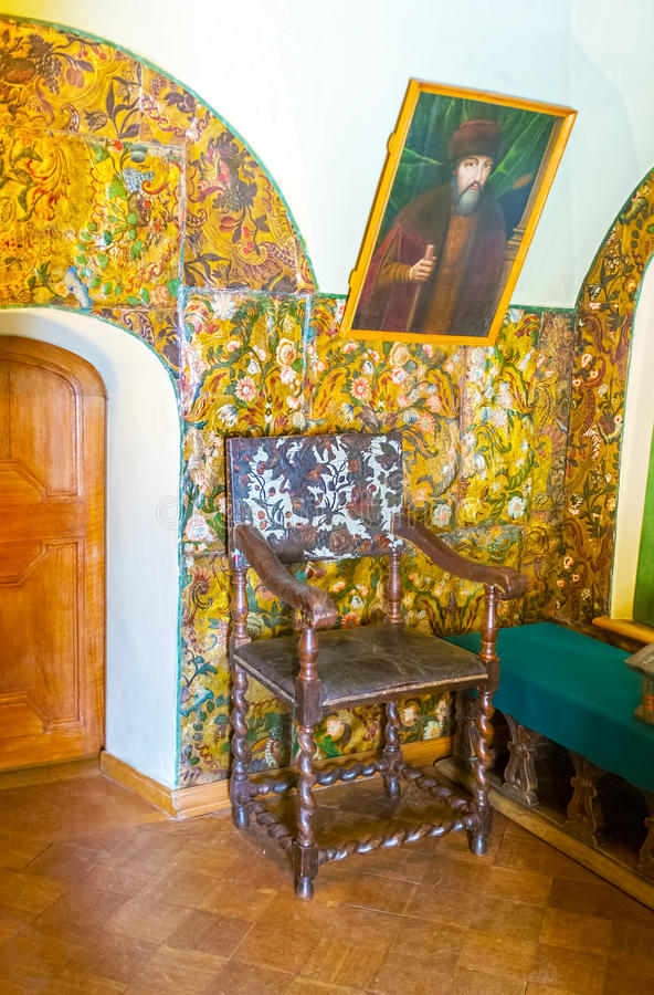 Het geschilderde Kabinet royalty-vrije stock foto's