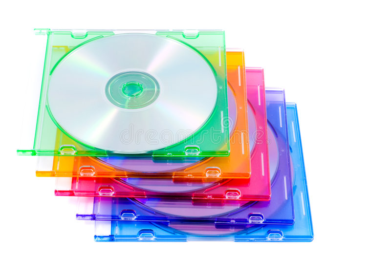 Het Geval van CD stock foto's