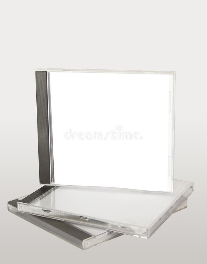 Het gevalstapel van CD stock foto