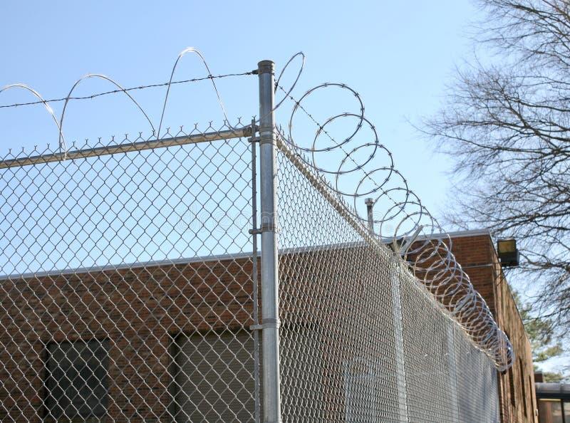 Het Gevangenissysteem stock foto