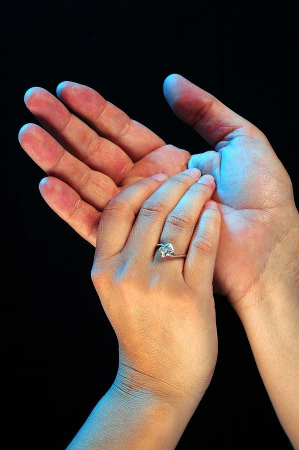 Het geven Handen