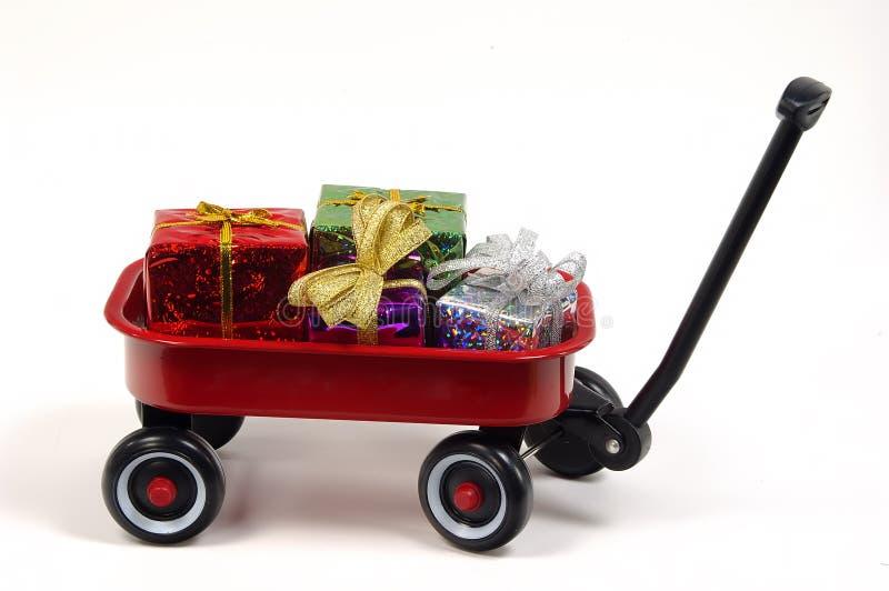 Het Geven van de gift stock afbeelding