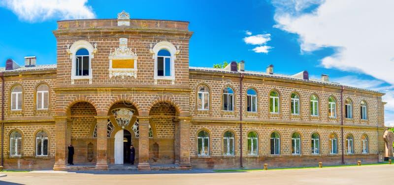 Het Gevorgian-Seminariegebouw royalty-vrije stock afbeeldingen