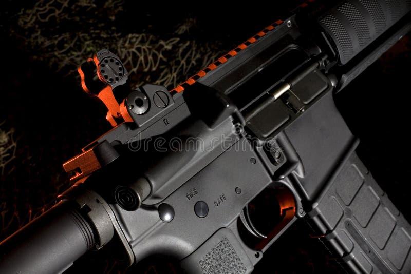 Het geweer van de aanval royalty-vrije stock foto's