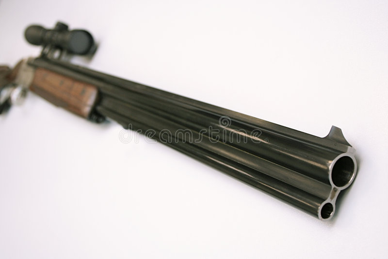 Het geweer van de jacht royalty-vrije stock afbeeldingen