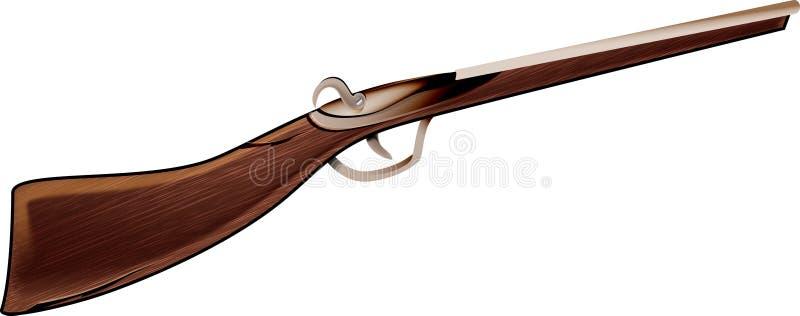 Het geweer van de lucht royalty-vrije illustratie
