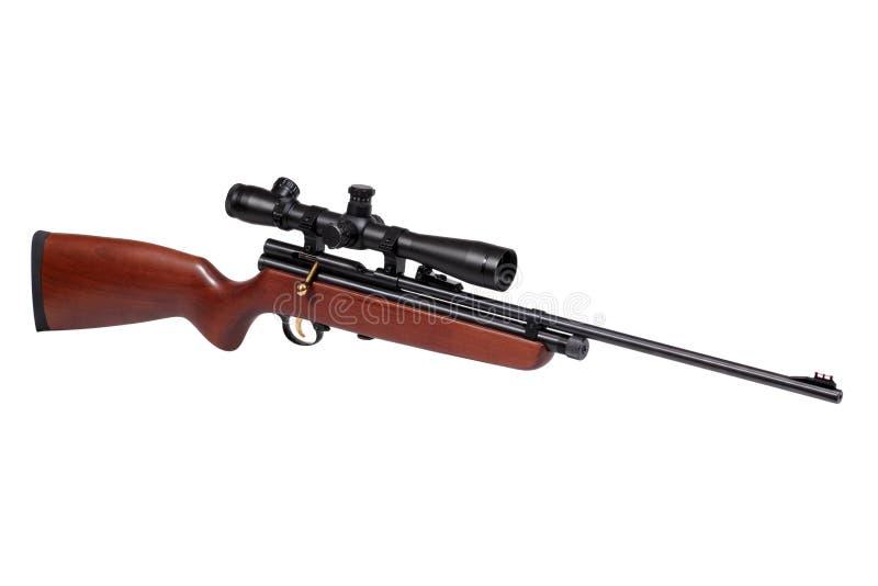 Download Het Geweer Van De Lucht Met Riflescope Stock Afbeelding - Afbeelding bestaande uit niemand, shooting: 29510389