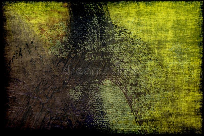 Het geweven abstracte canvas van Grunge stock afbeelding