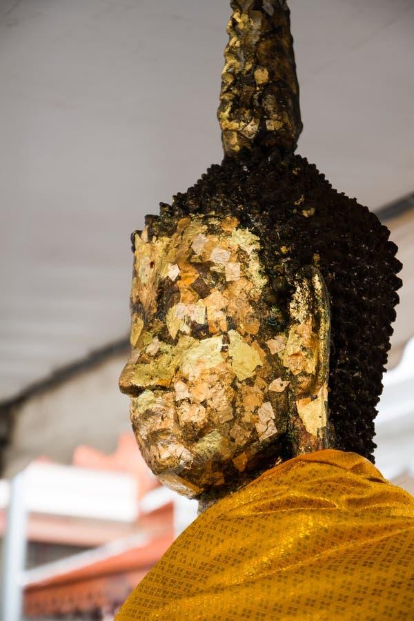 Het gezicht van Boedha stock afbeelding