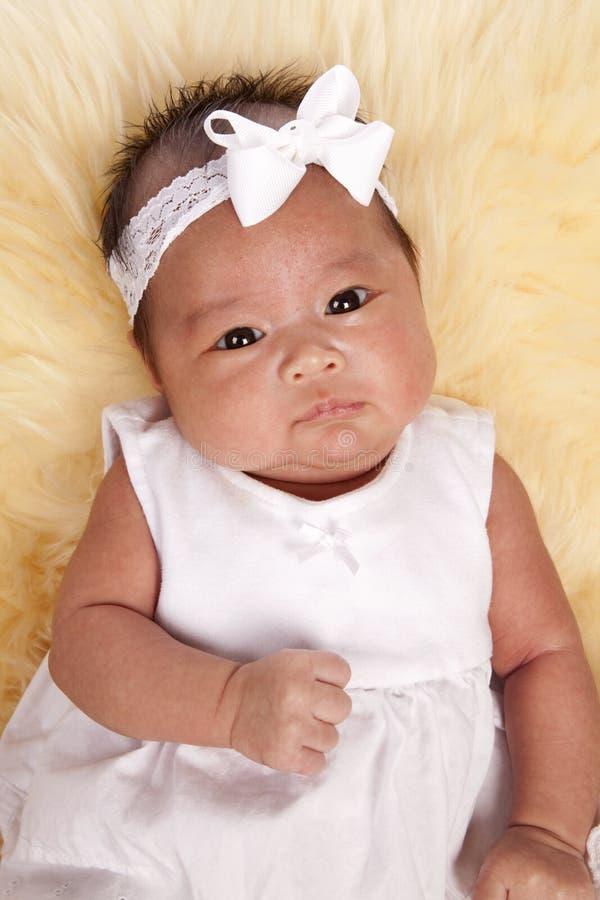 Het gezicht van de baby stock foto's